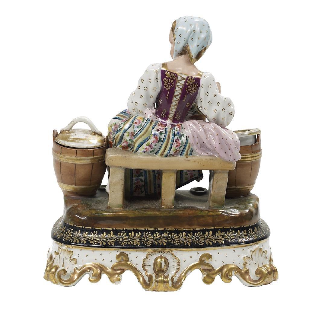 Jacob Petit Porcelain Encrier - 2