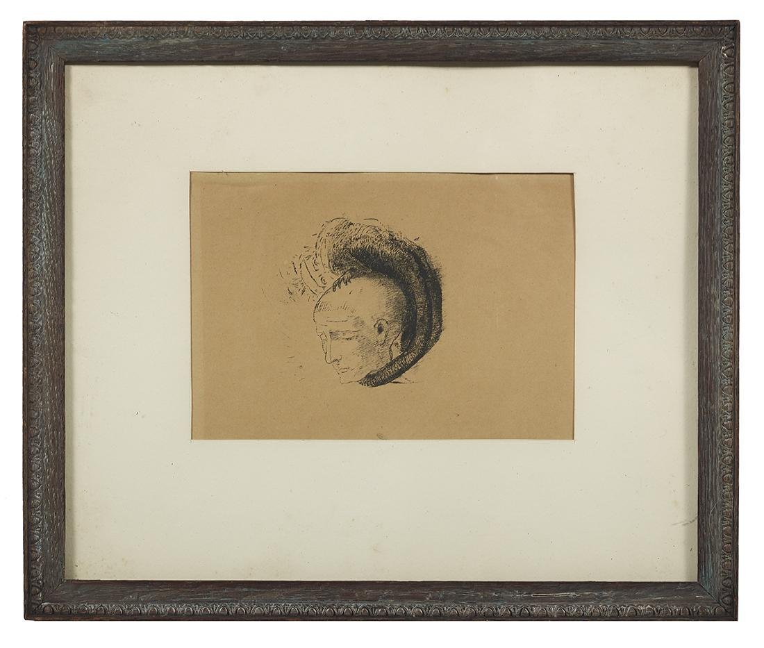 Odilon Redon, (French, 1840-1916)