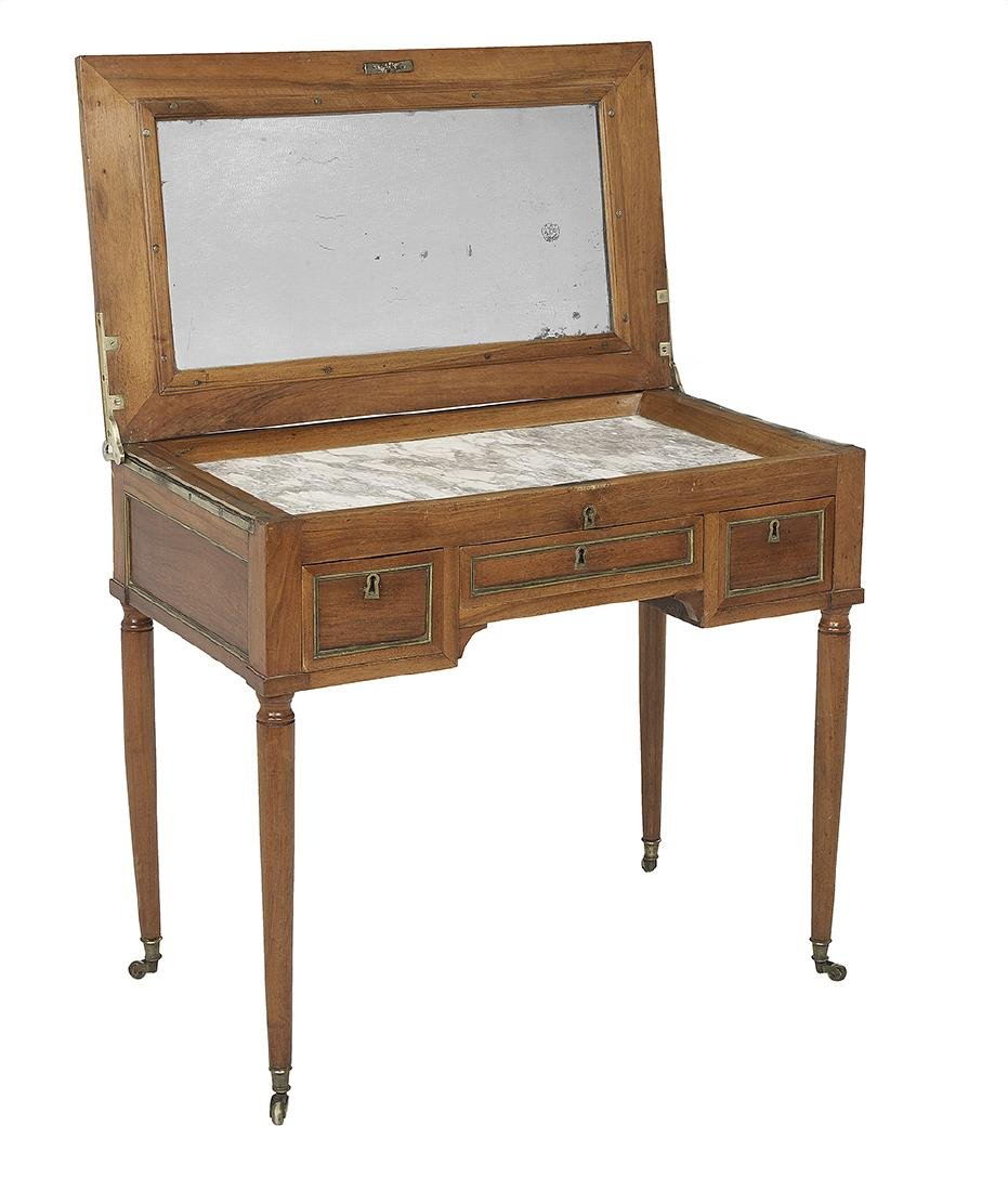 Louis XVI-Style Fruitwood Dressing Table - 2