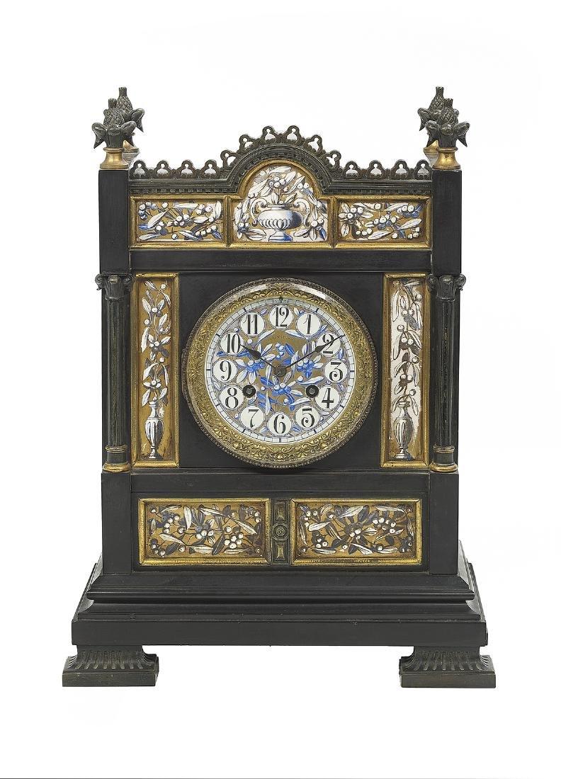 French Aesthetic Mantel Clock