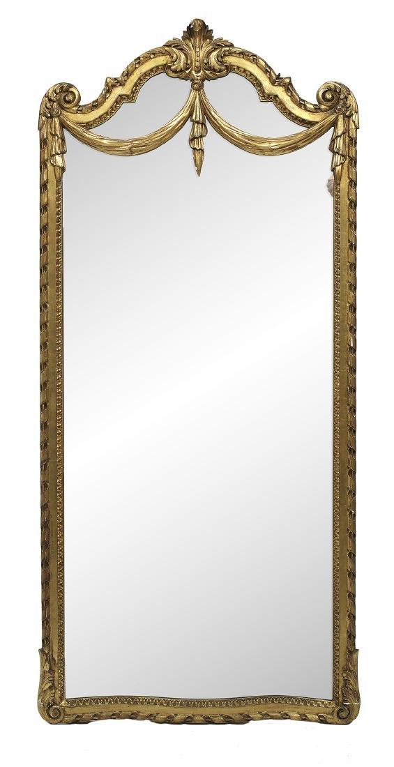 French Giltwood Mirror in the Neoclassical Taste
