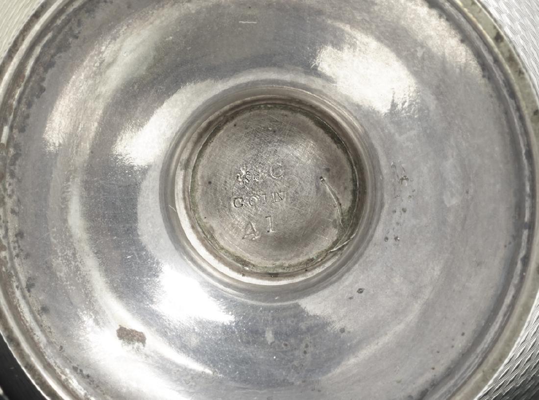 Four Pairs of Gorham Silver Salt Cellars - 6