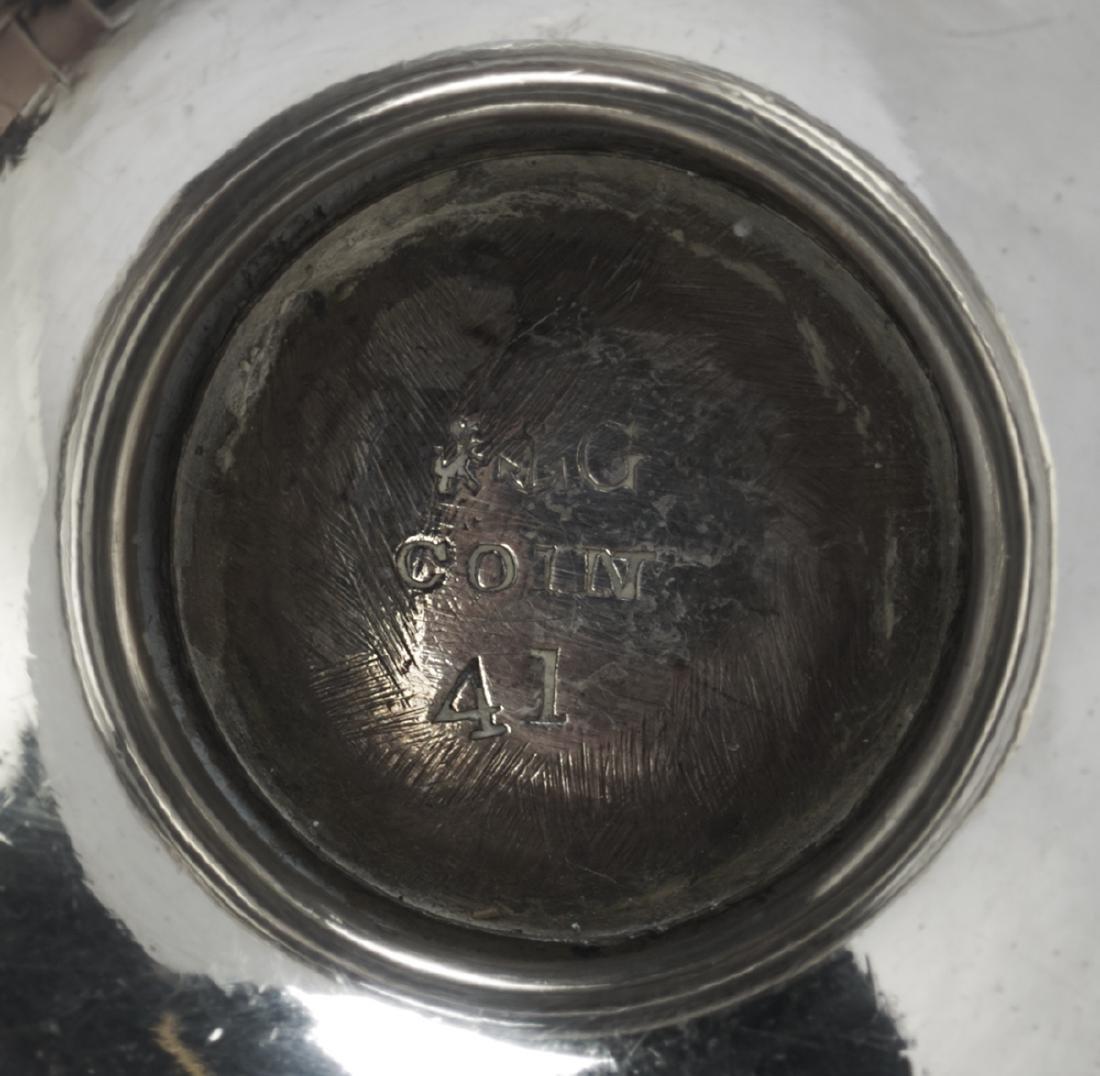 Four Pairs of Gorham Silver Salt Cellars - 8