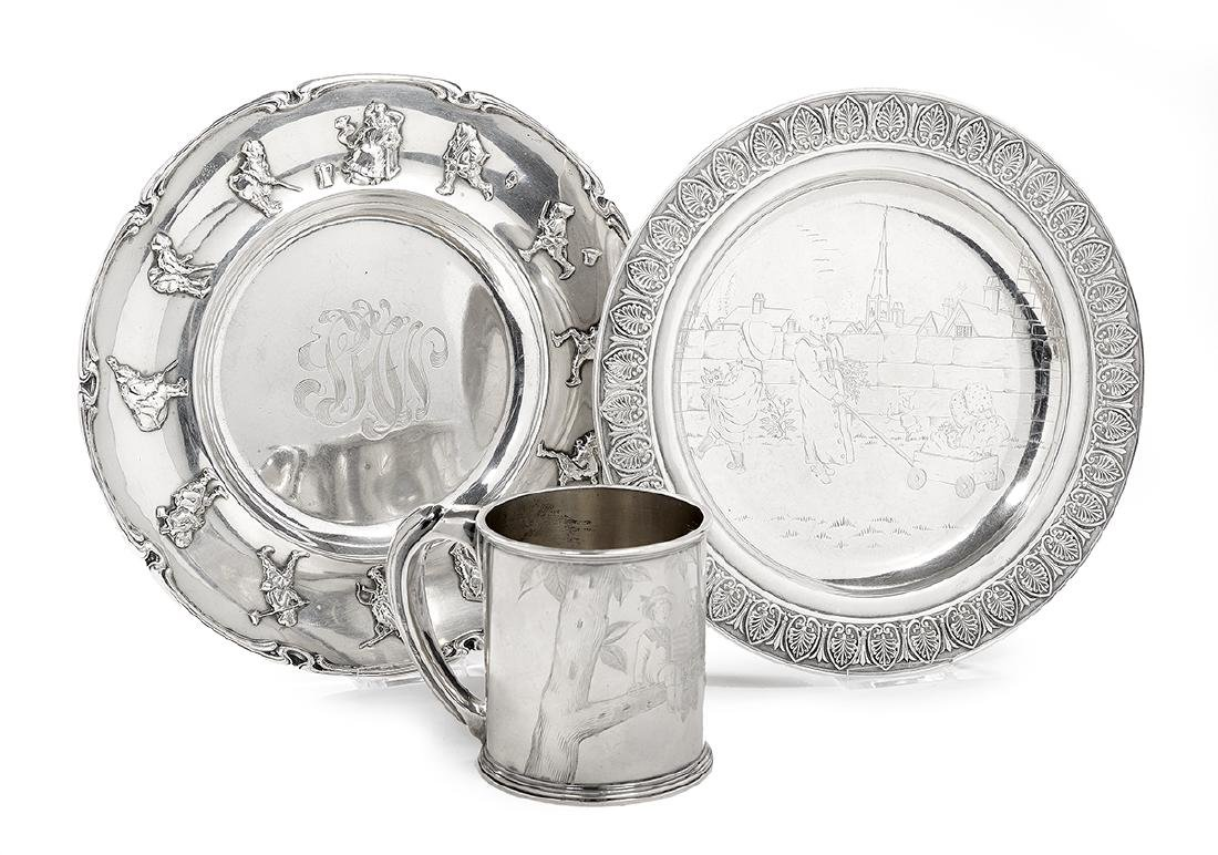 3 Pcs. of Gorham & Whiting Children's Silver