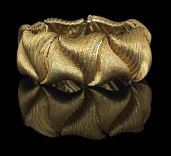 Henry Dunay Gold Bracelet