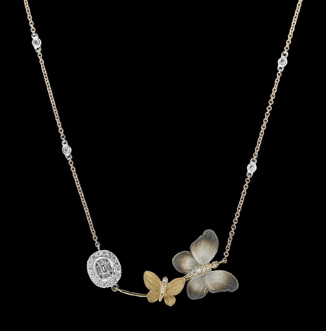 Whimsical Diamond Necklace