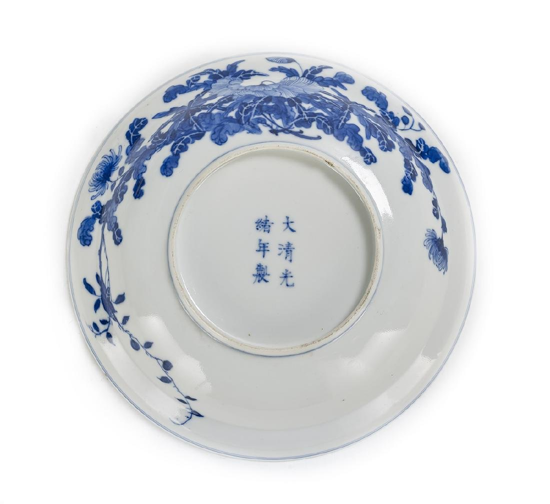 Associated Pair of Chinese Blue and White Bowls - 5