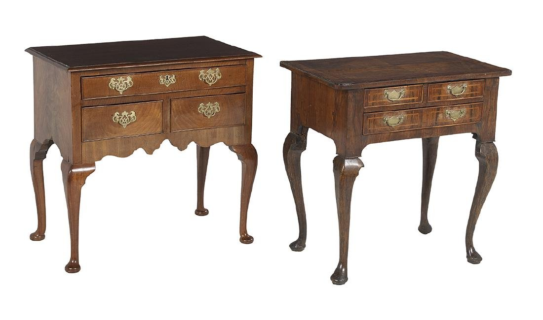 Two George III Lowboys