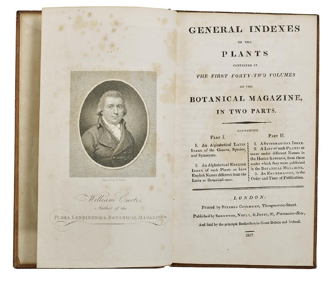 """William Curtis, """"Botanical Magazine"""" 1787-1815 - 2"""