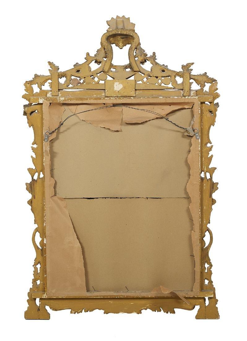 Pair of Italian Rococo-Style Giltwood Mirrors - 4