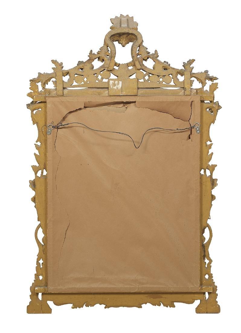 Pair of Italian Rococo-Style Giltwood Mirrors - 5