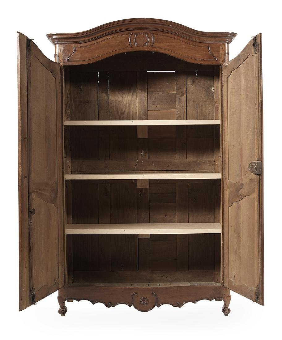French Provincial Cherrywood Armoire - 3