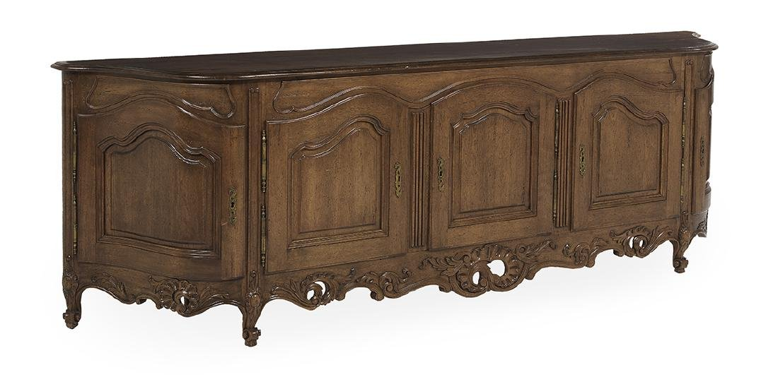 Provincial Louis XV-Style Fruitwood Buffet - 2
