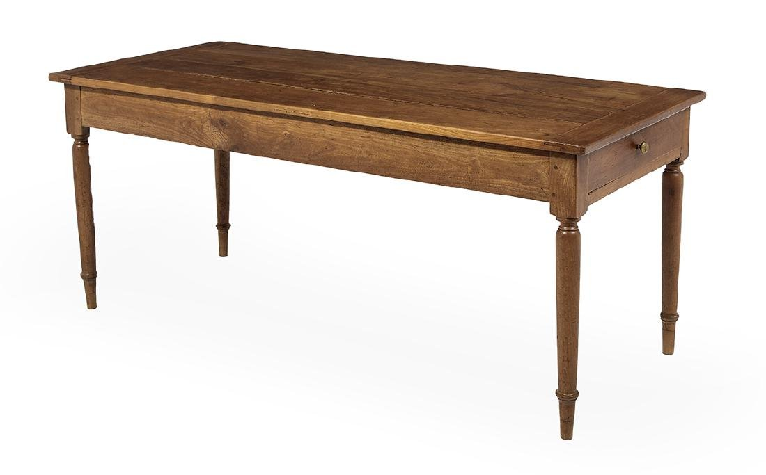 French Provincial Cherrywood Farmhouse Table