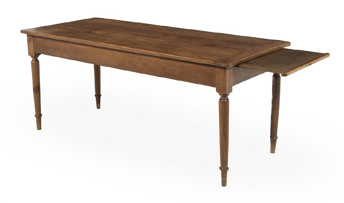 French Provincial Cherrywood Farmhouse Table - 2