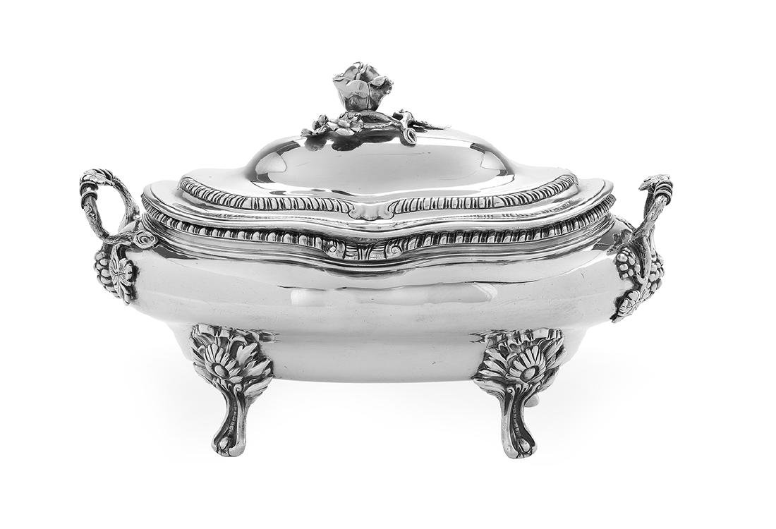 Late Victorian Sterling Silver Tureen