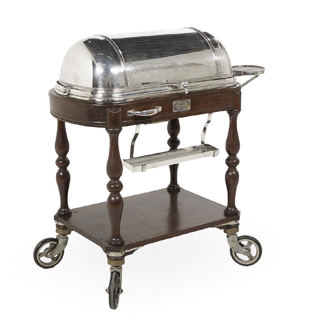 Christofle Silverplate Roast Beef Trolley