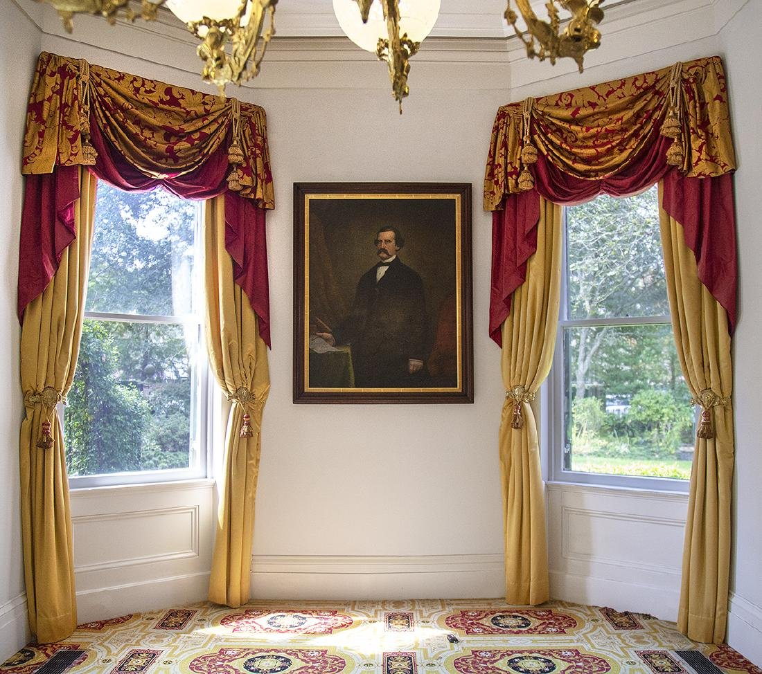 Four Sets of Curtains and Valances