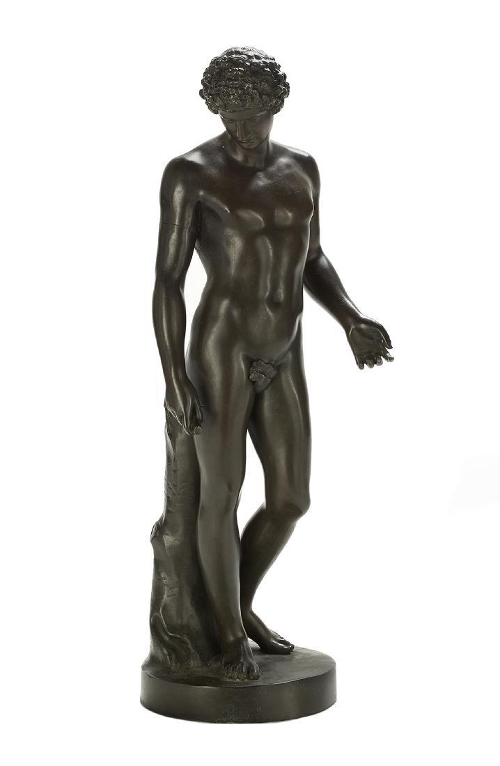 "Grand Tour Patinated Bronze of ""Antinous"""