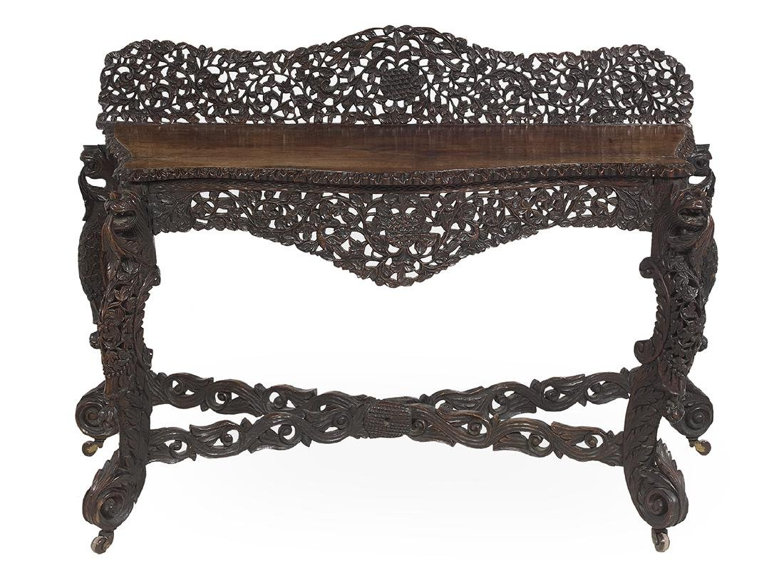 Southeast Asian Rosewood Side Table