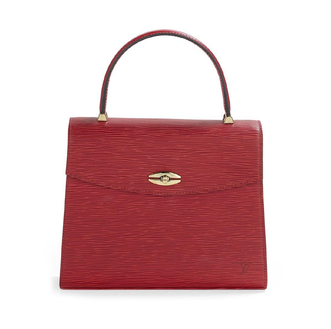 "Louis Vuitton Epi Leather ""Malesherbes"" Handbag"