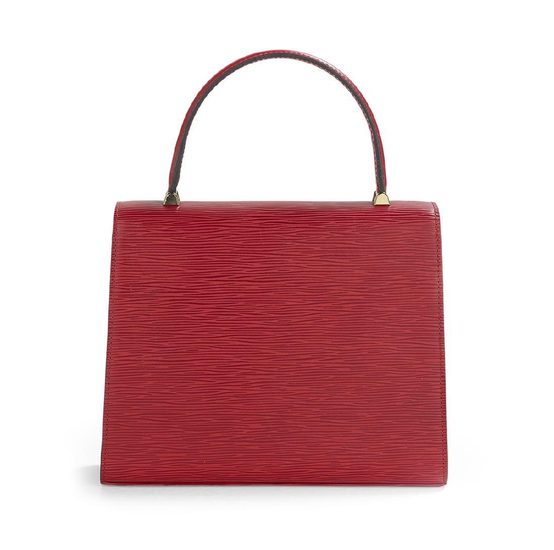 "Louis Vuitton Epi Leather ""Malesherbes"" Handbag - 2"