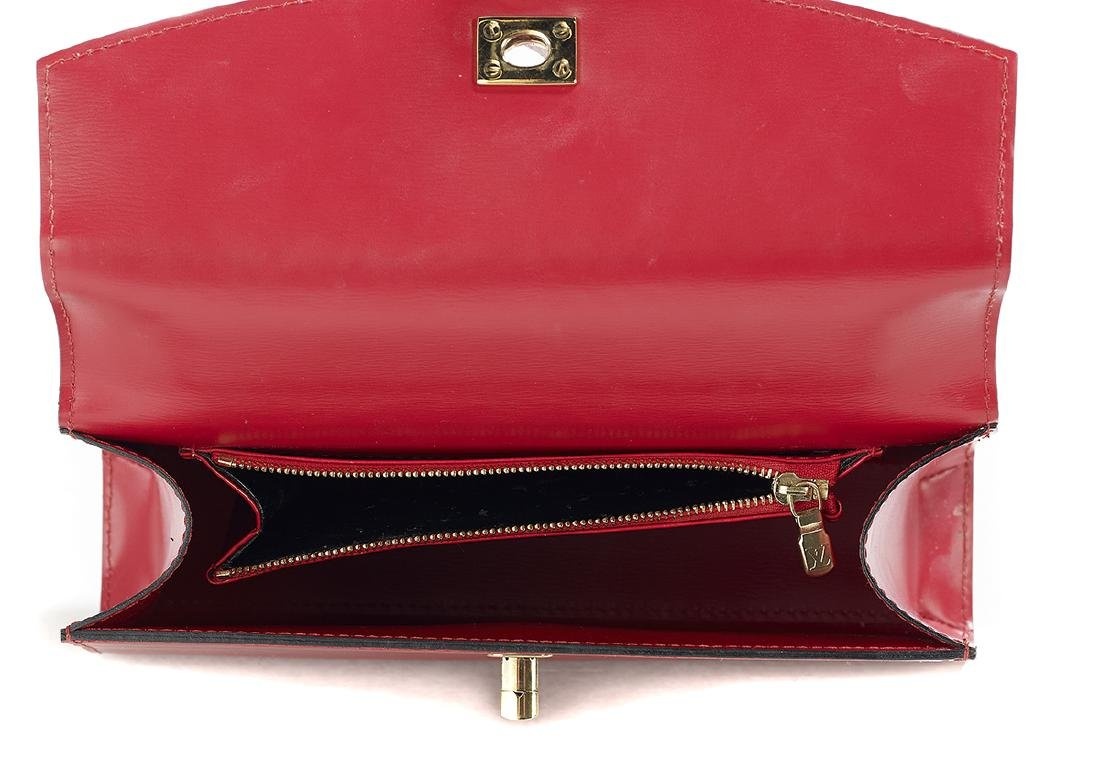 "Louis Vuitton Epi Leather ""Malesherbes"" Handbag - 3"