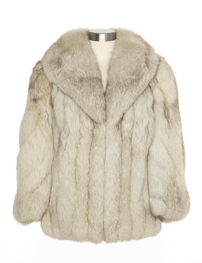 Vintage Silver Fox Jacket
