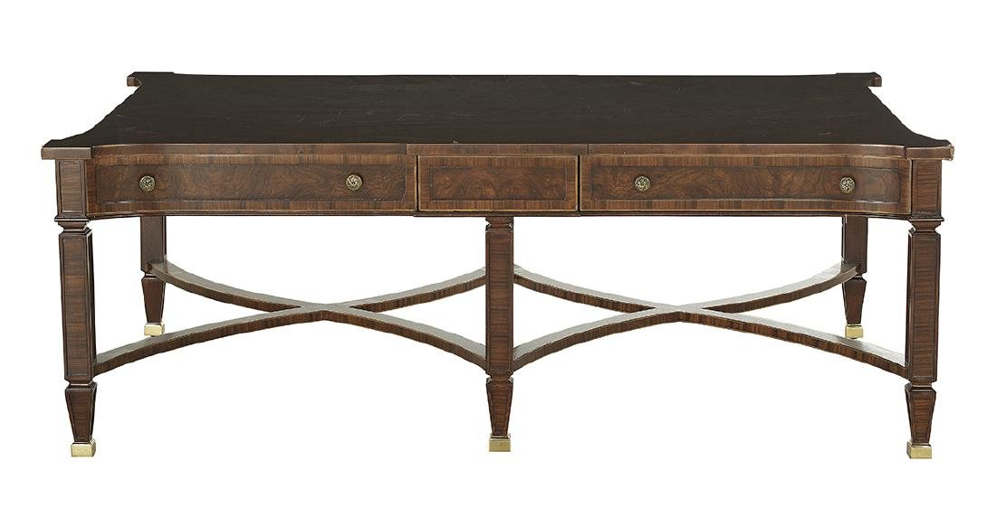 Contemporary Mixed Woods Cocktail Table