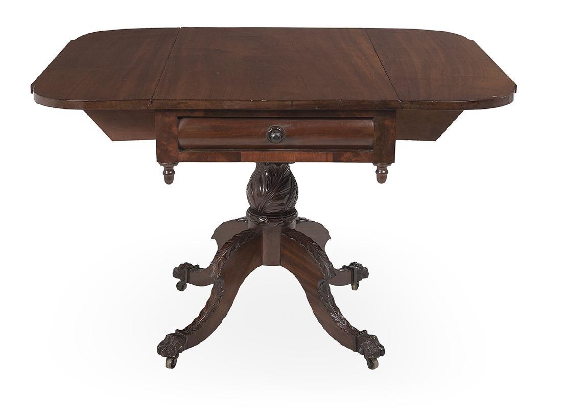 American Classical Mahogany Pembroke Table - 2
