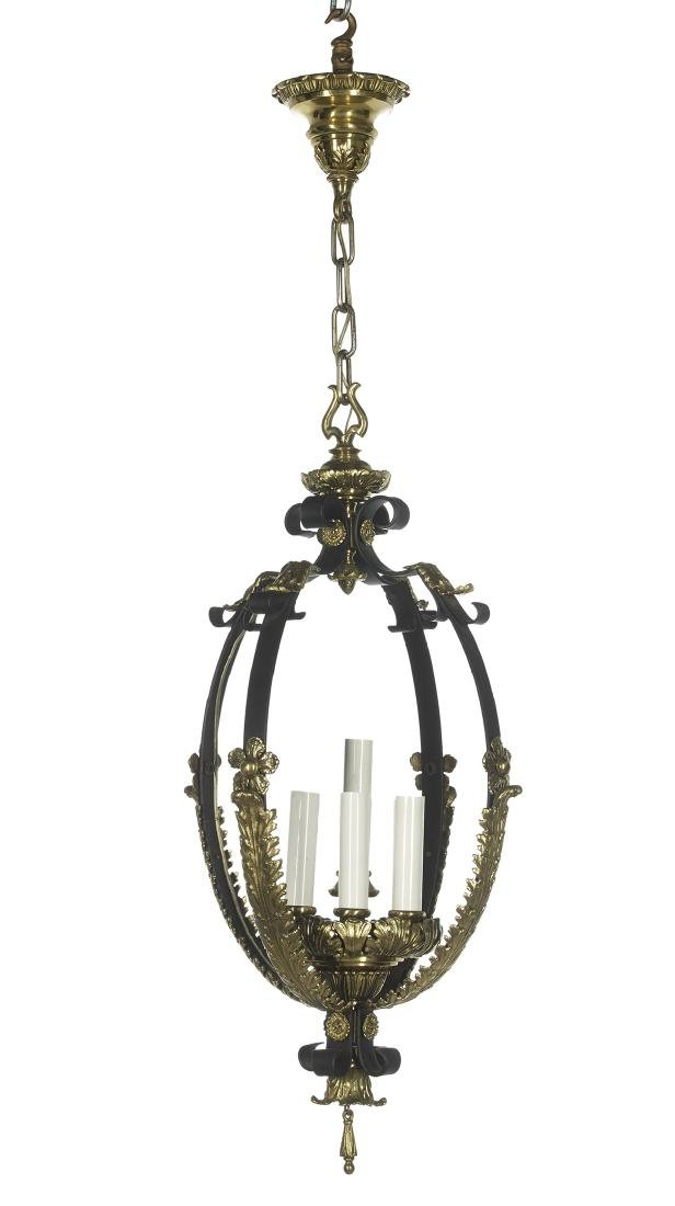 Unusual Hall Lantern of Baroque Inspiration