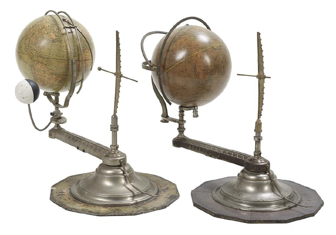 Associated Pair of Table Globes