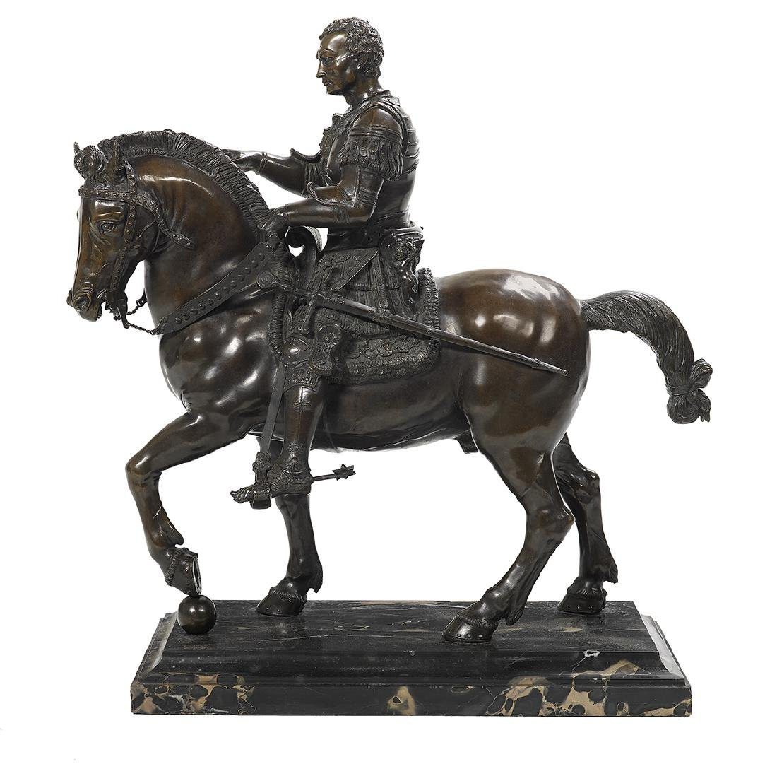 Bronze of a Roman Military Leader