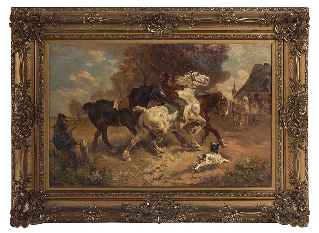 Henry Schouten (Belgian, 1857-1927)