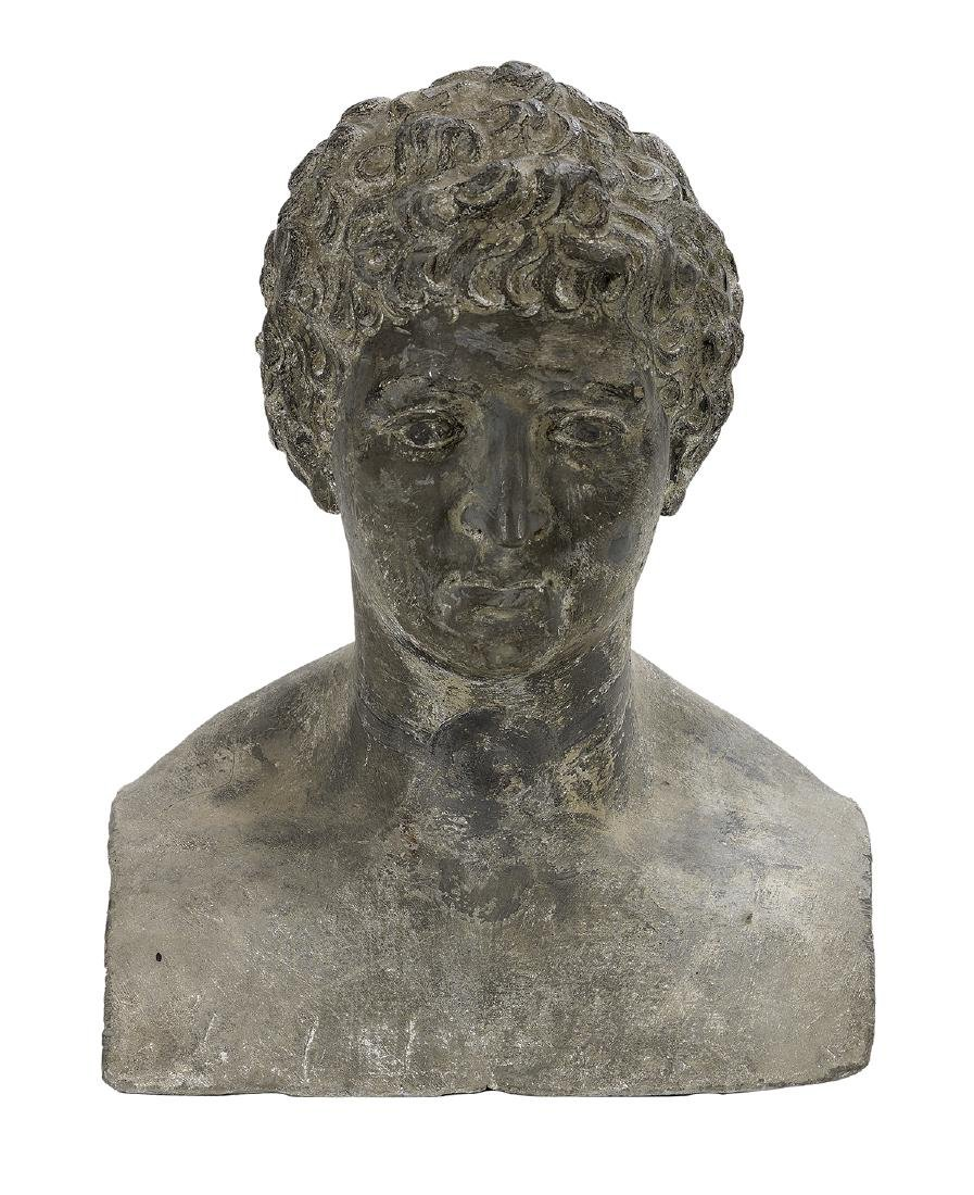 Continental Bust of a Greek Athlete