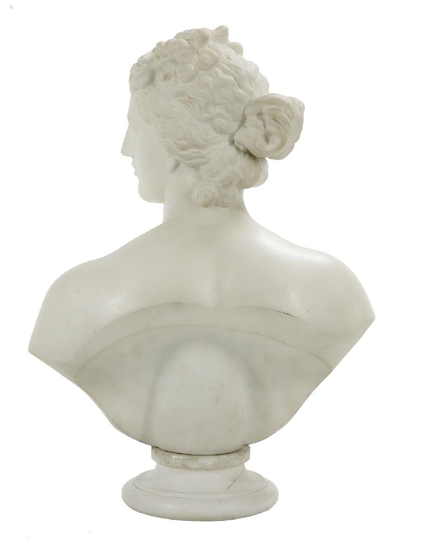 Italian Carved Marble Bust of the Venus de Medici - 2