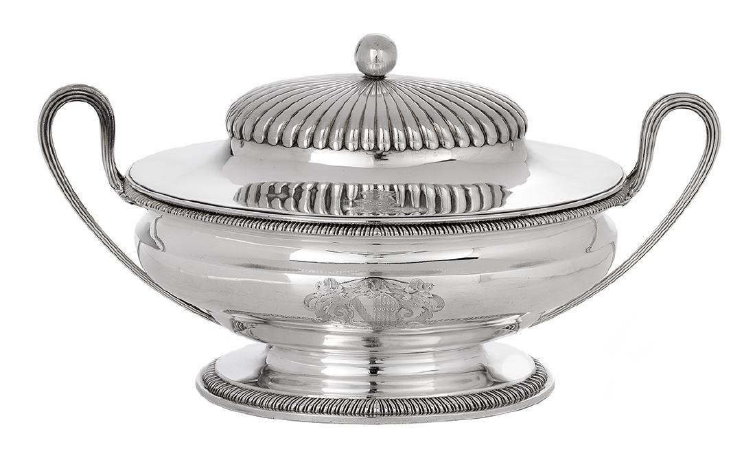 George III Sterling Silver Tureen