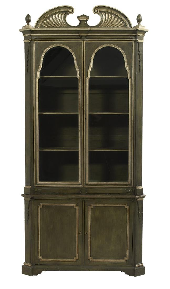 Pair of Italian Parcel-Gilt Cabinets - 2