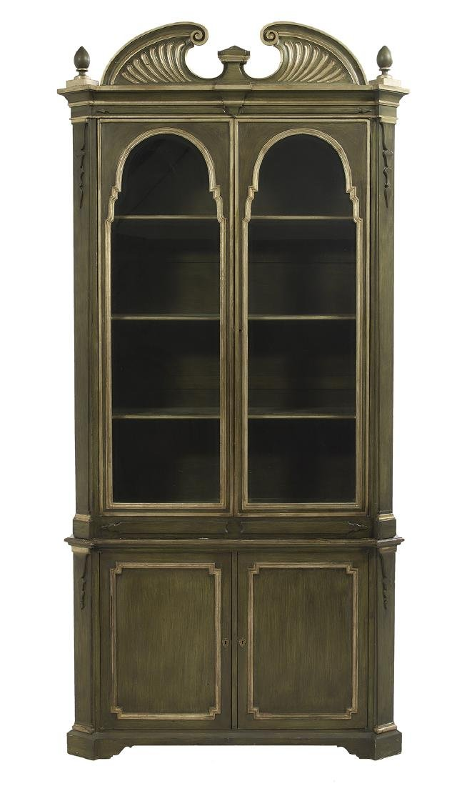 Pair of Italian Parcel-Gilt Cabinets - 3