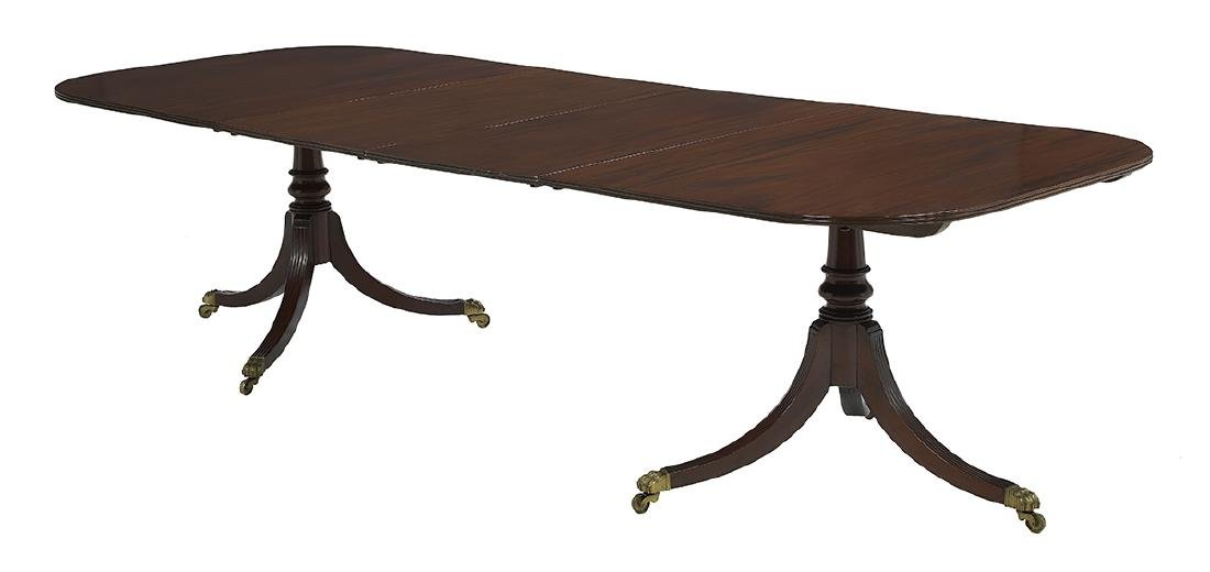 George III-Style Mahogany Dining Table