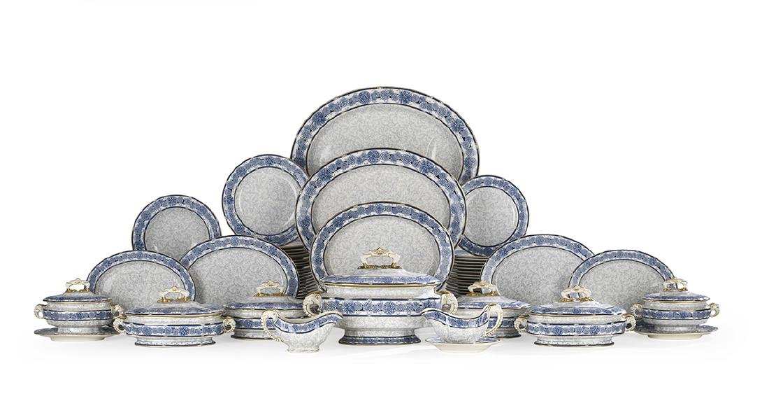 Royal Worcester Vitreous China Dinner Service