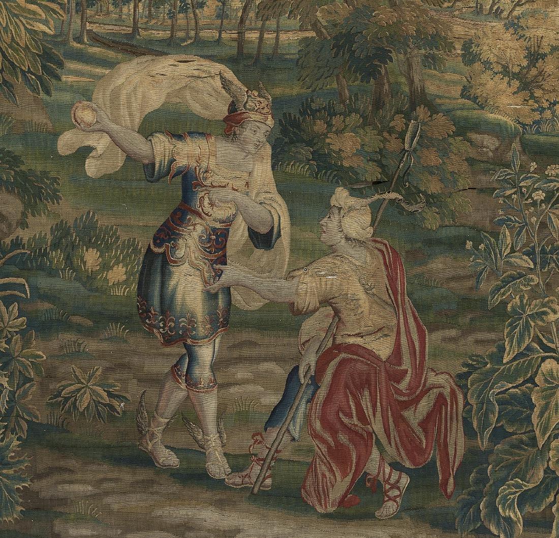 French Verdure Tapestry - 2