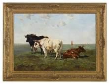 Emile van Damme-Sylva (Belgian, 1853-1935)
