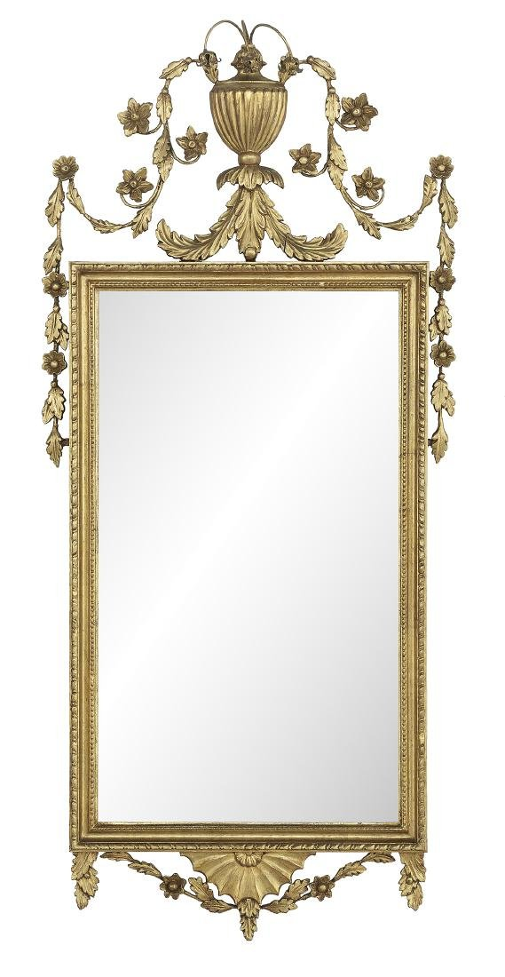 Pair of English Giltwood Mirrors - 2