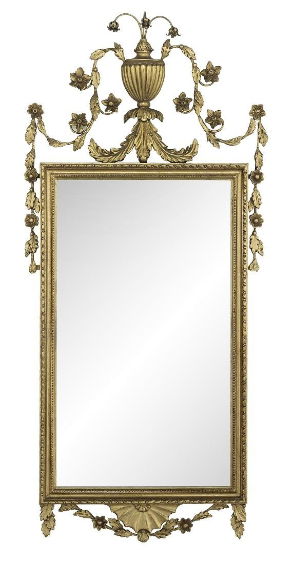 Pair of English Giltwood Mirrors - 3