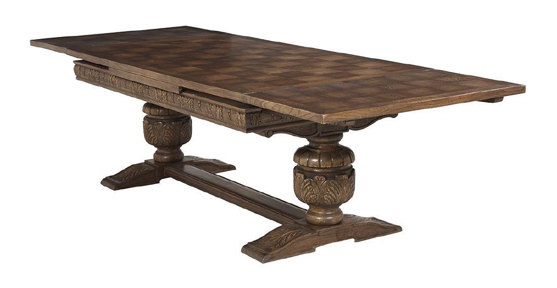 Jacobean-Style Oak Refectory Table - 2