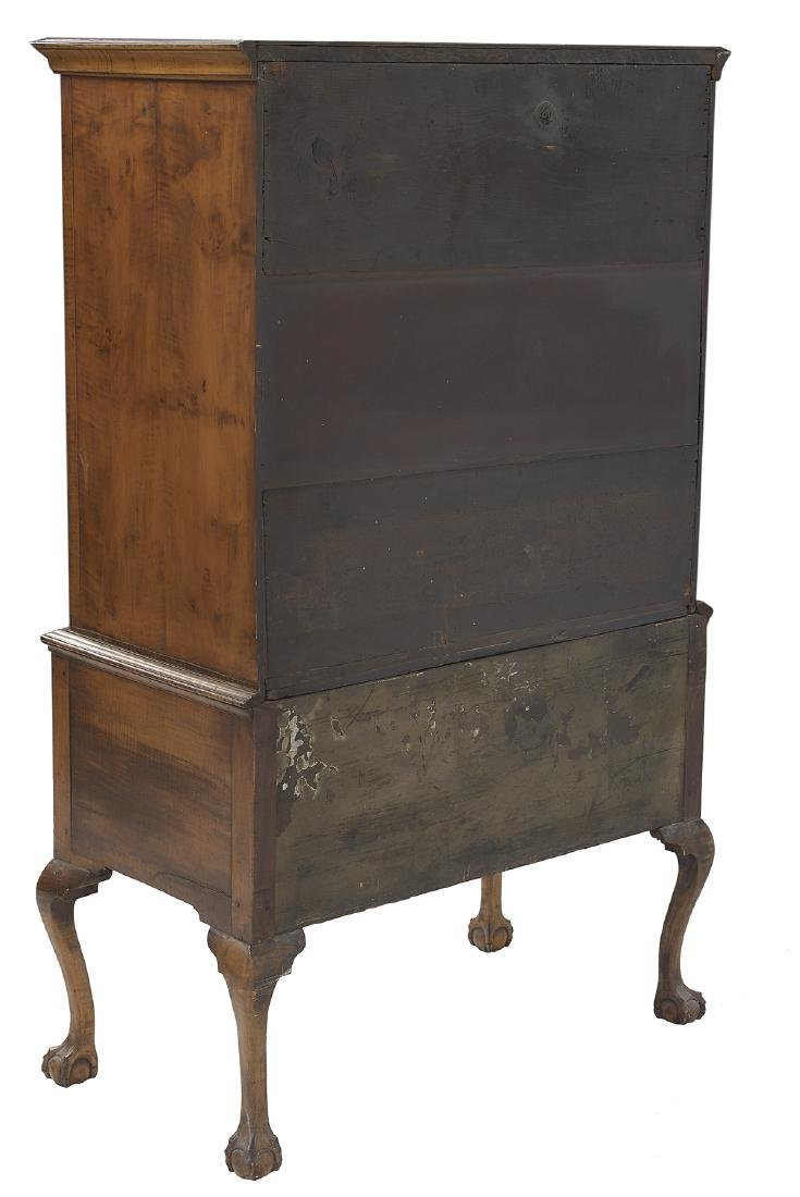 American Chippendale Maple High Chest - 3