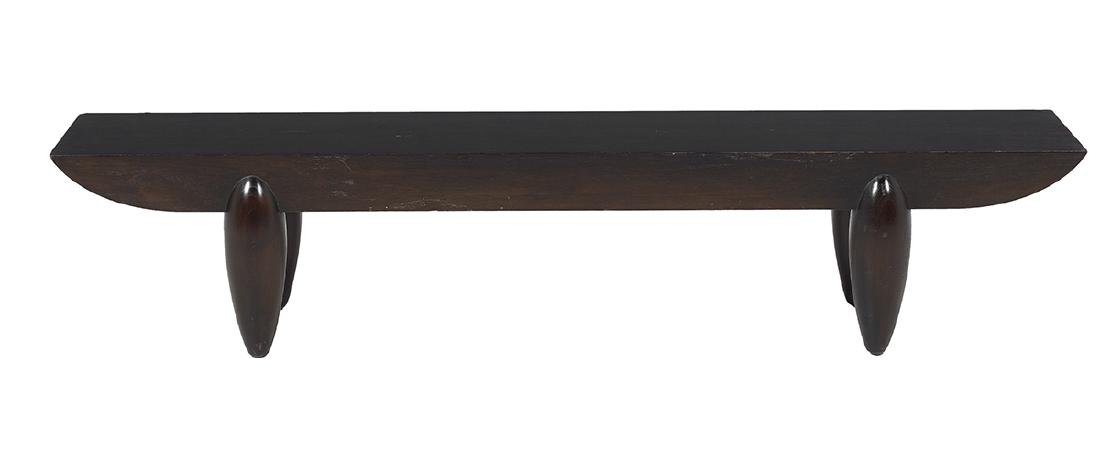 "Christian Liaigre for Holly Hunt ""Pirogue Bench"" - 2"