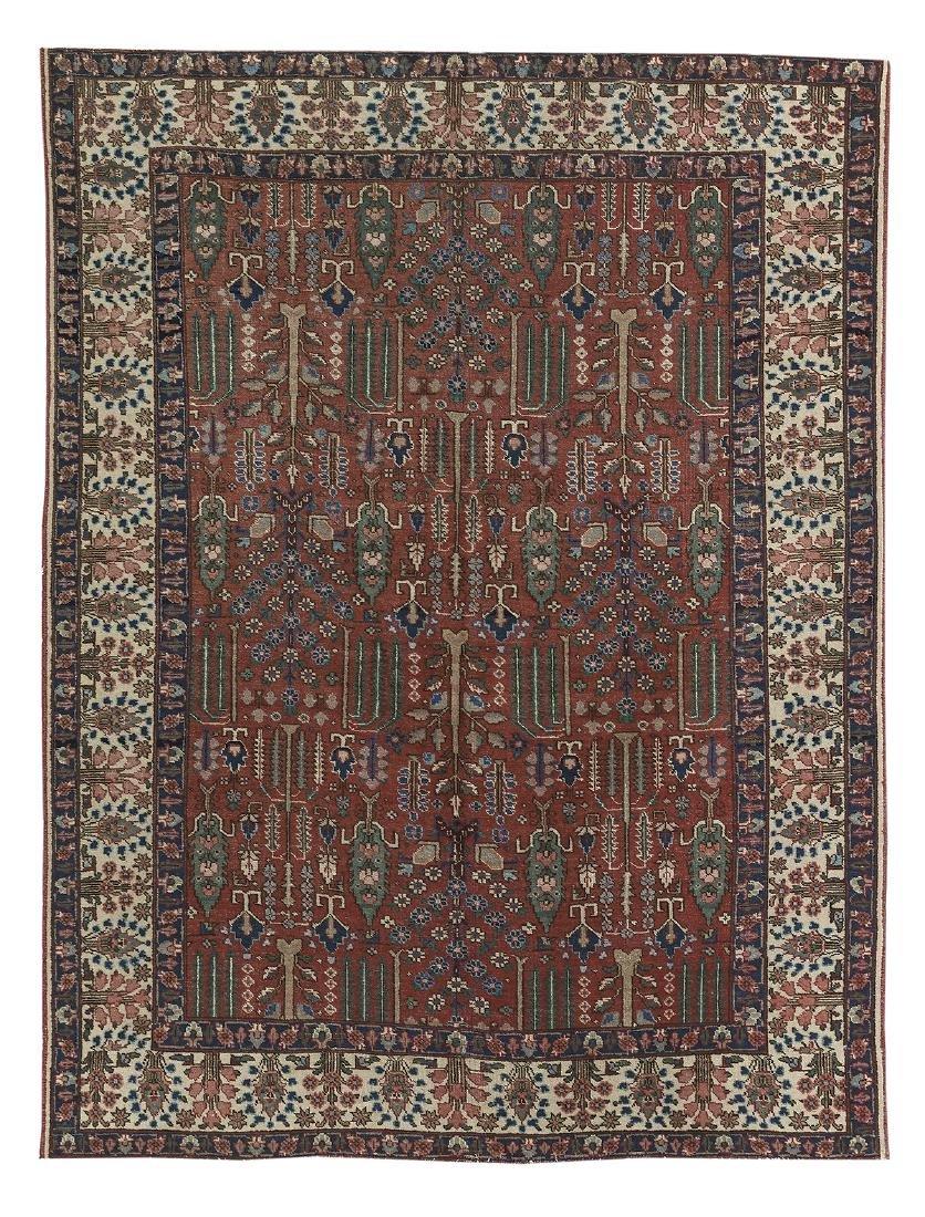 Semi-Antique Bakhtiari Carpet