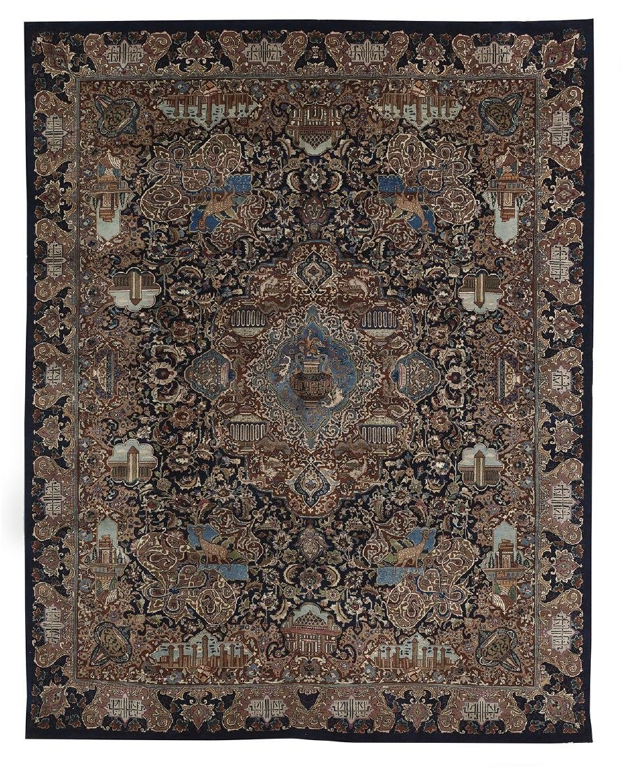 Persian Pictorial Carpet